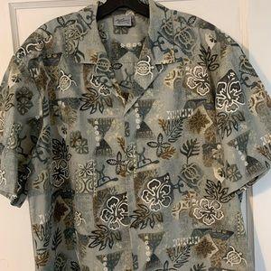 Vintage Royal Creations Camp Collar Hawaiian Sz XL